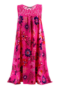 Candynana Printed swing tank dress