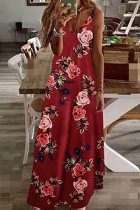 Candynana Holiday Floral Dress
