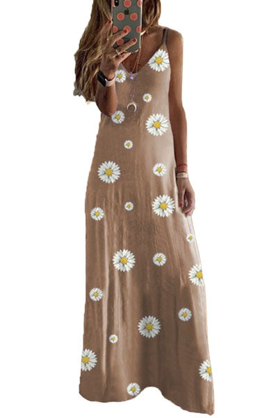 Candynana Long jumpsuit with loose printed vest