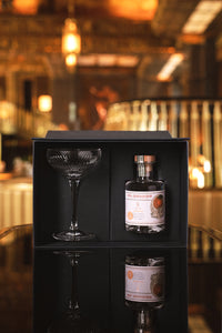 St. George ATLAS Orange Gin (200ml) and ATLAS martini glass by Waterford