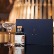 Load image into Gallery viewer, St. George ATLAS Orange Gin (200ml) and ATLAS martini glass by Waterford