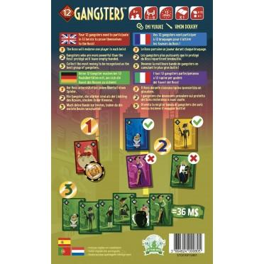 12 Gangsters-Blue Orange-Jeu d'ambiance