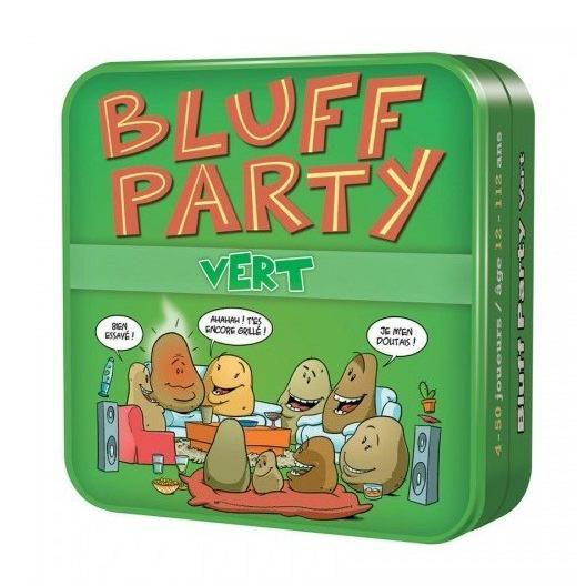 Bluff party vert-Cocktail games