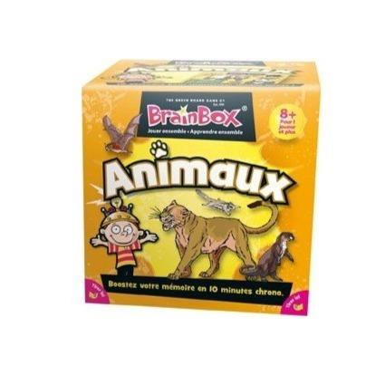 Brain Box Animaux-Green Board Game Company