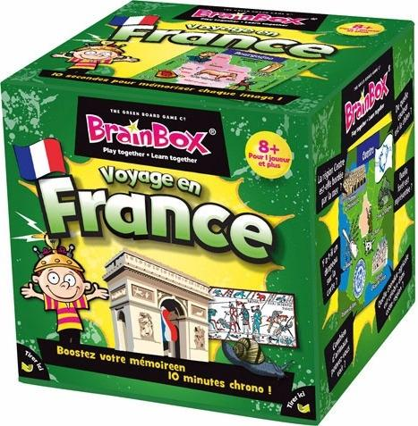 BrainBox : Voyage En France-Green Board Game Company-Jeu enfants