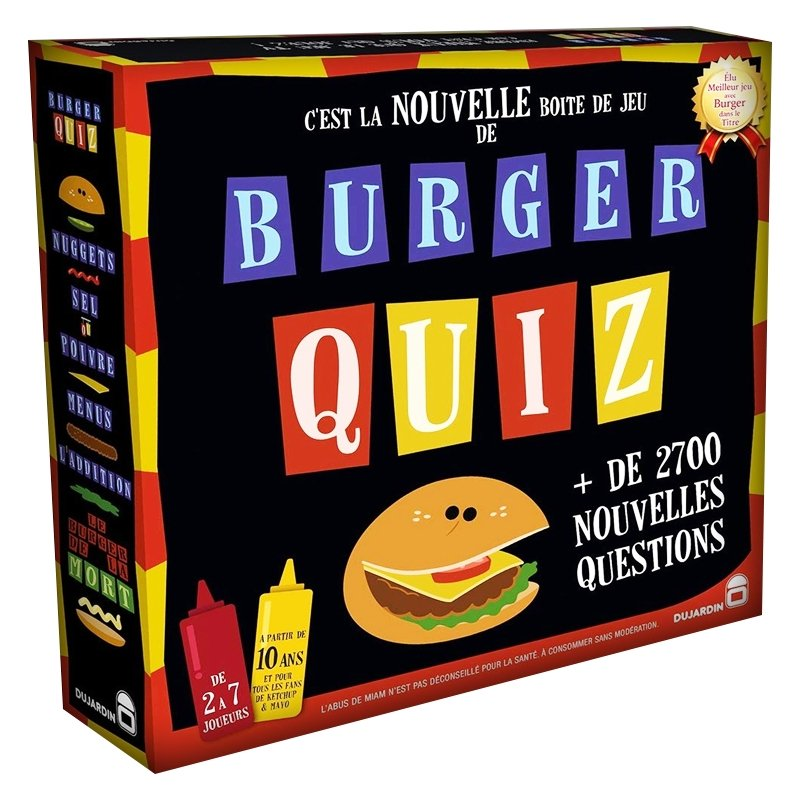 Burger Quiz-Dujardin / TF1 Game