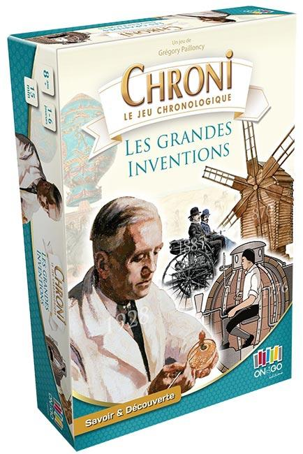 Chroni - Inventions Et Découvertes-On the Go Editions-Jeu d'ambiance