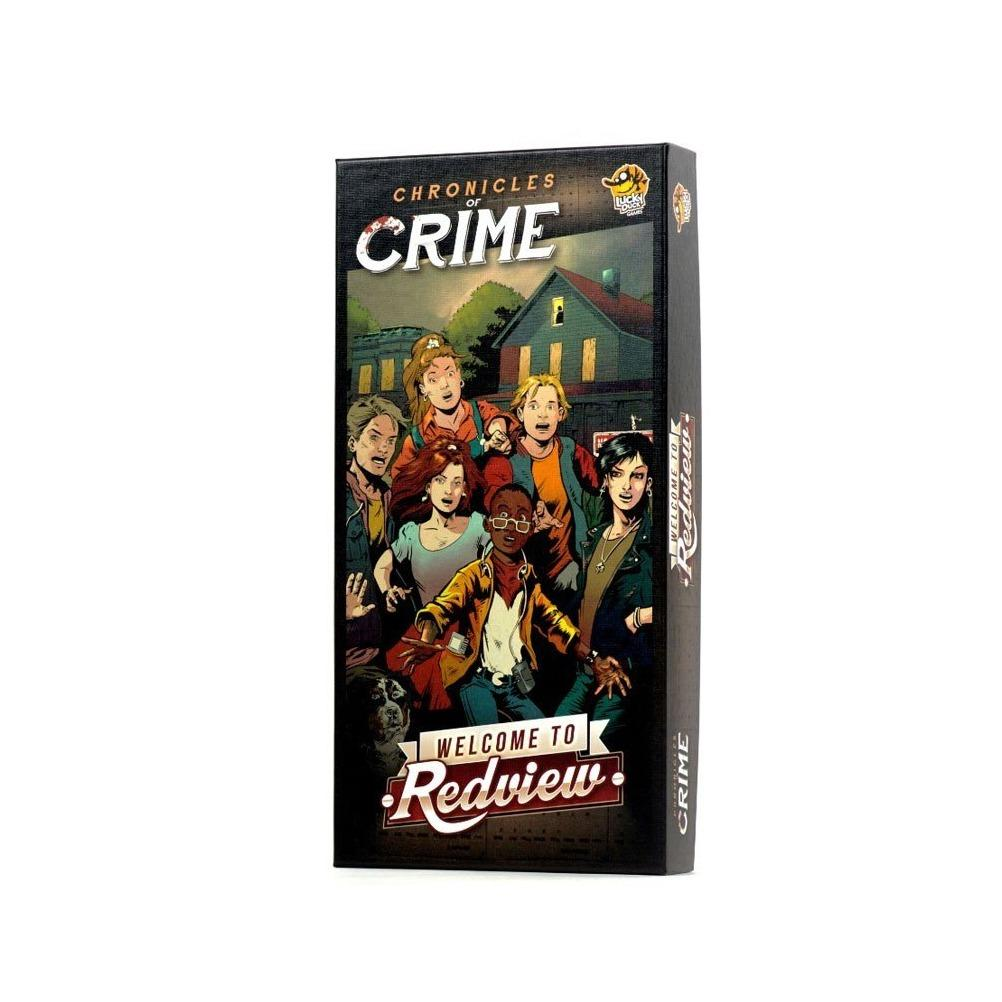 Chronicles of crime - welcome to redview-Lucky Duck Games
