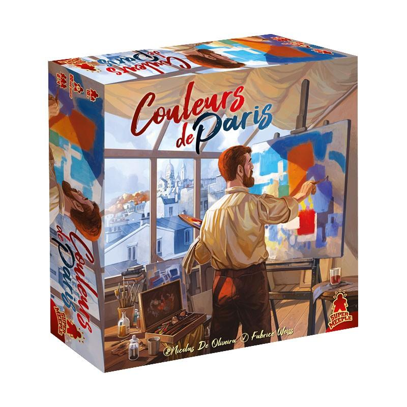 Couleurs de Paris-Super Meeple