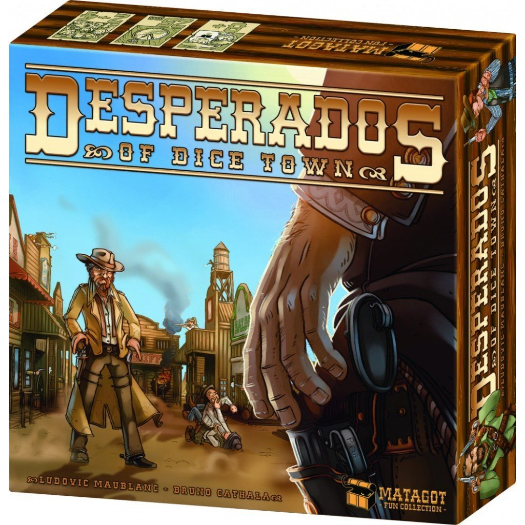 Desperados of Dice Town-Matagot