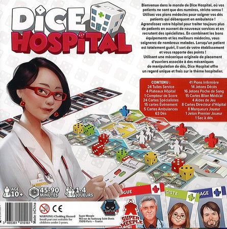 Dice Hospital-Super Meeple