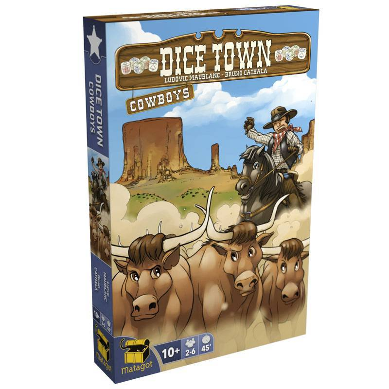 Dice Town: Cowboys extension-Matagot