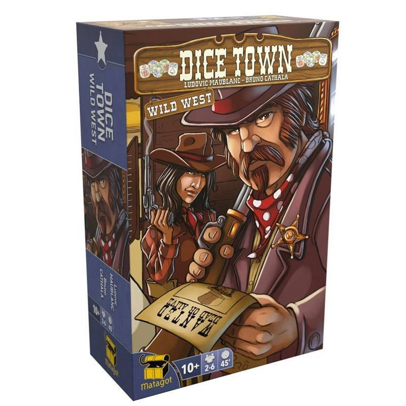Dice Town: Wild West-Matagot