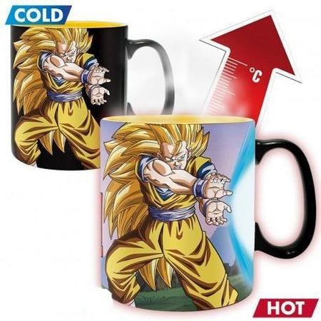 Dragon Ball - Mug Heat Change - DBZ Goku - 460ml-Mille & un Jeux-