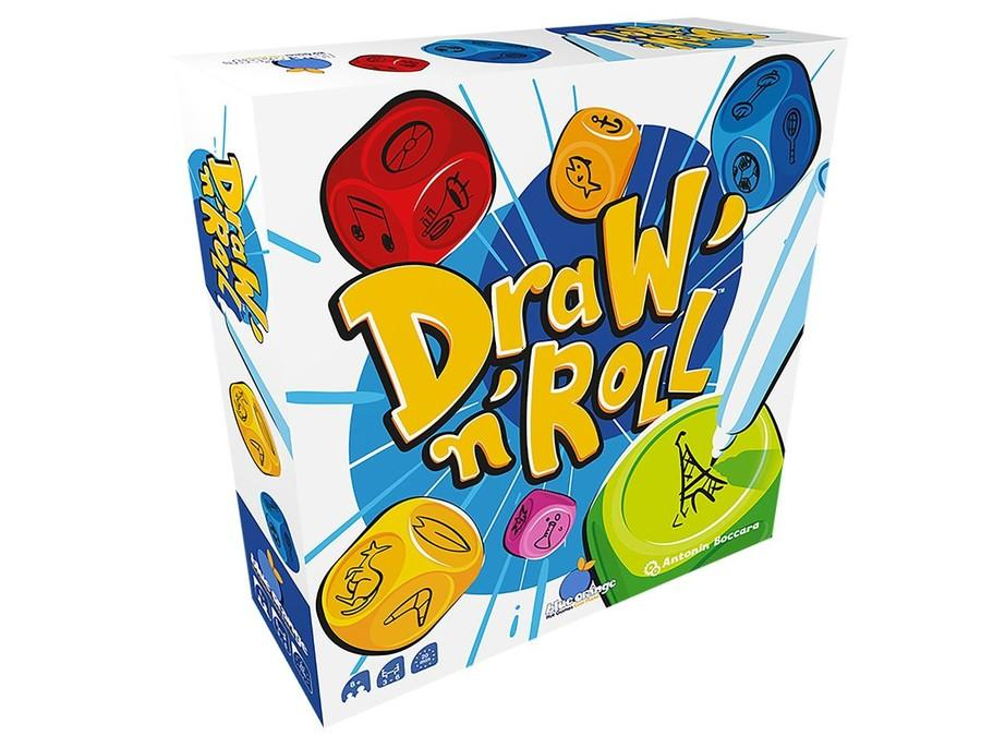 Draw'N'Roll-Blue Orange-Jeu d'ambiance