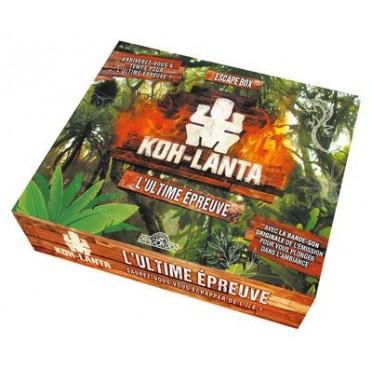 Escape Box - Koh - Lanta : L'ultime Epreuve-404 Editions-Jeu d'ambiance