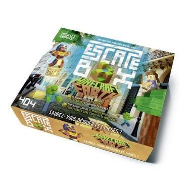 Escape Box - Minecraft Earth-404 Editions-Jeu d'ambiance
