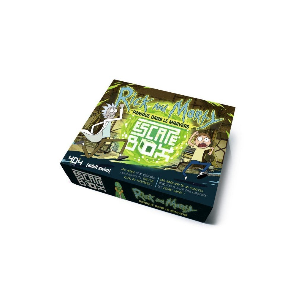Escape Box - Rick and Morty-404 Editions-Jeu d'ambiance