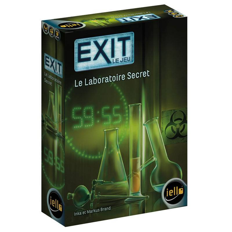 Exit : Le laboratoire secret-Iello