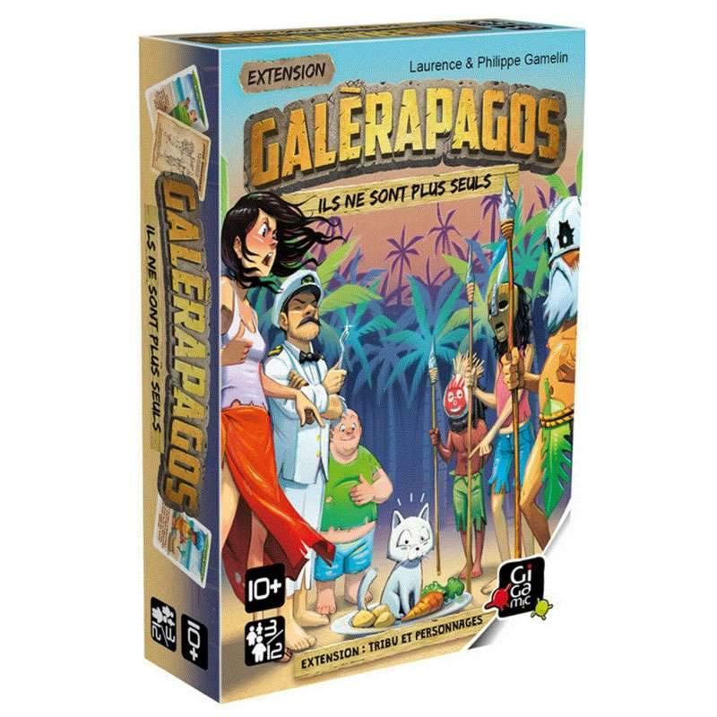Galerapagos - extension-Gigamic-Jeu d'ambiance