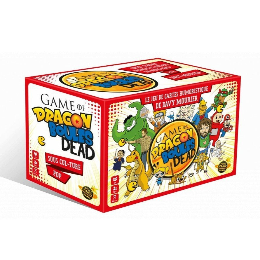 Game of Dragon Boule Dead-Don't Panic Games-Jeu d'ambiance