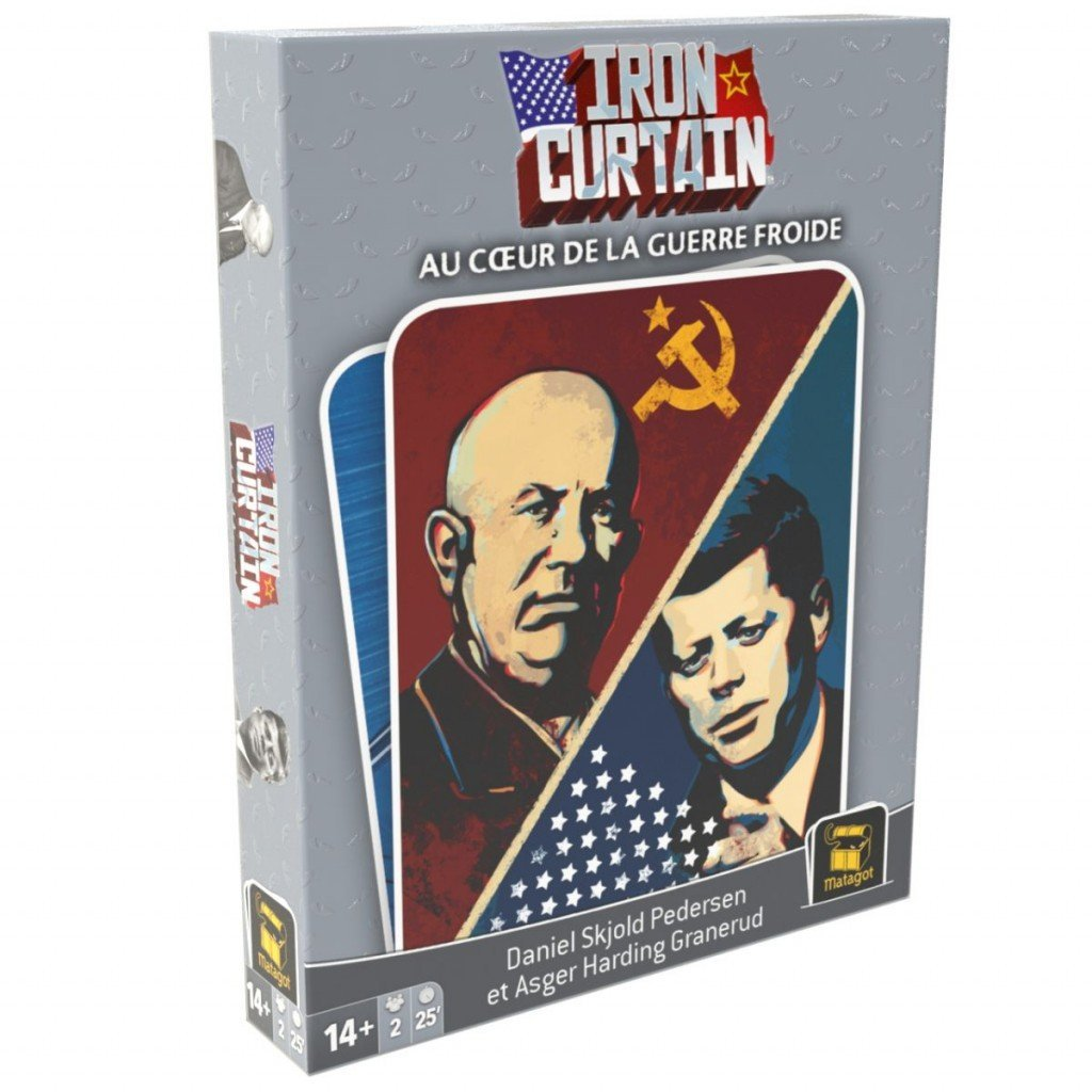 Iron Curtain-Matagot-Jeu à 2