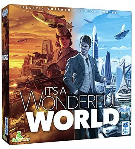 It's A Wonderful World-La boîte de jeu-Jeu de stratégie