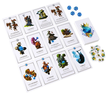 Le Roi Des 12 ( Goodies Inclus )-Lucky Duck Games-Jeu d'ambiance