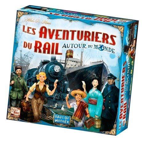 Les Aventuriers Du Rail - Autour du monde-Days of wonder