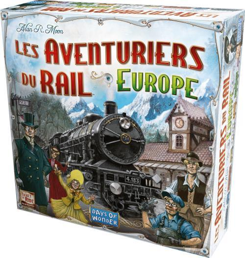 Les Aventuriers Du Rail - Europe-Days of wonder