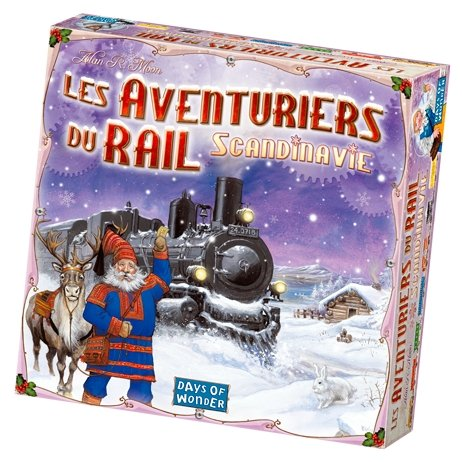 Les Aventuriers Du Rail - Scandinavie-Days of wonder-Jeu de stratégie