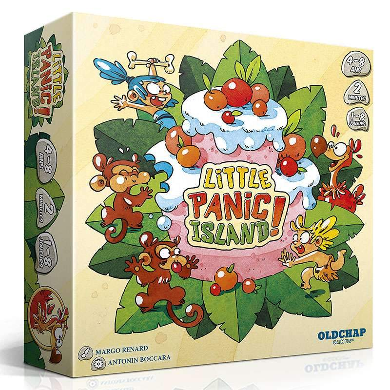 Little Panic Island-OldChap Editions-Jeu enfants