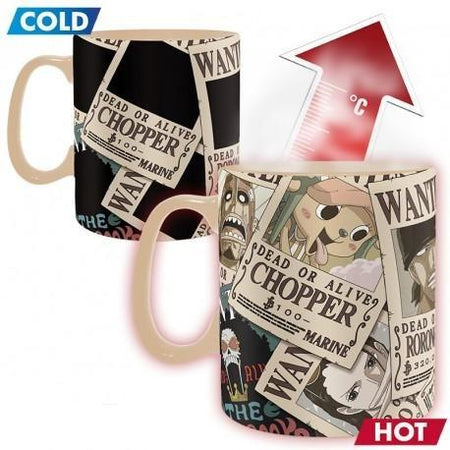 One Piece - Mug Heat Change - Wanted-Abysse-Accessoire