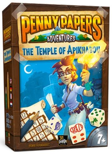 Penny Papers Adventures - The Temple Of Apikhabou-Sit Down-Jeu d'ambiance
