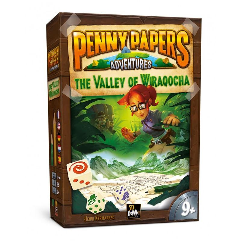 Penny Papers Adventures - The Valley Of Wiraqocha-Sit Down-Jeu d'ambiance