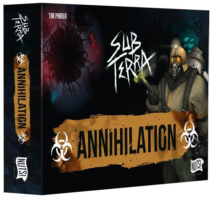 Sub Terra: Ext. 3 - Annihilation-Nuts Publishing