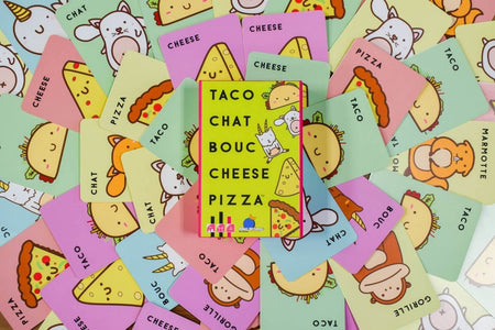 Taco Chat Bouc Cheese Pizza-Blue Orange