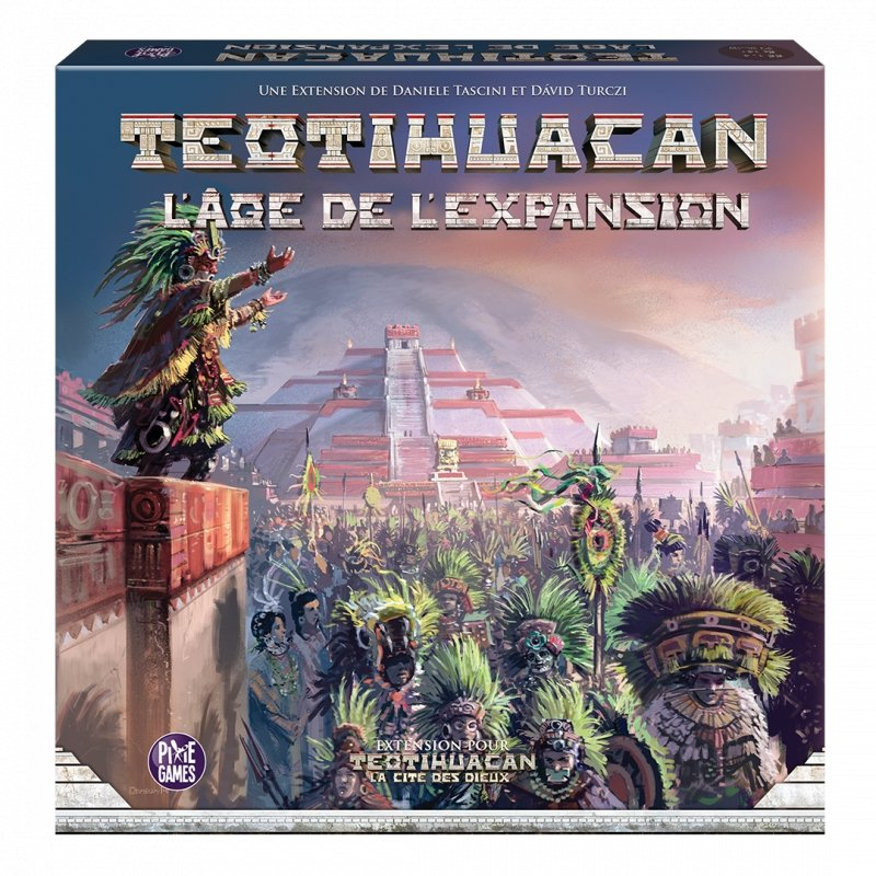 Teotihuacan - L'Age De L'Expansion-Board And Dice-Jeu de stratégie