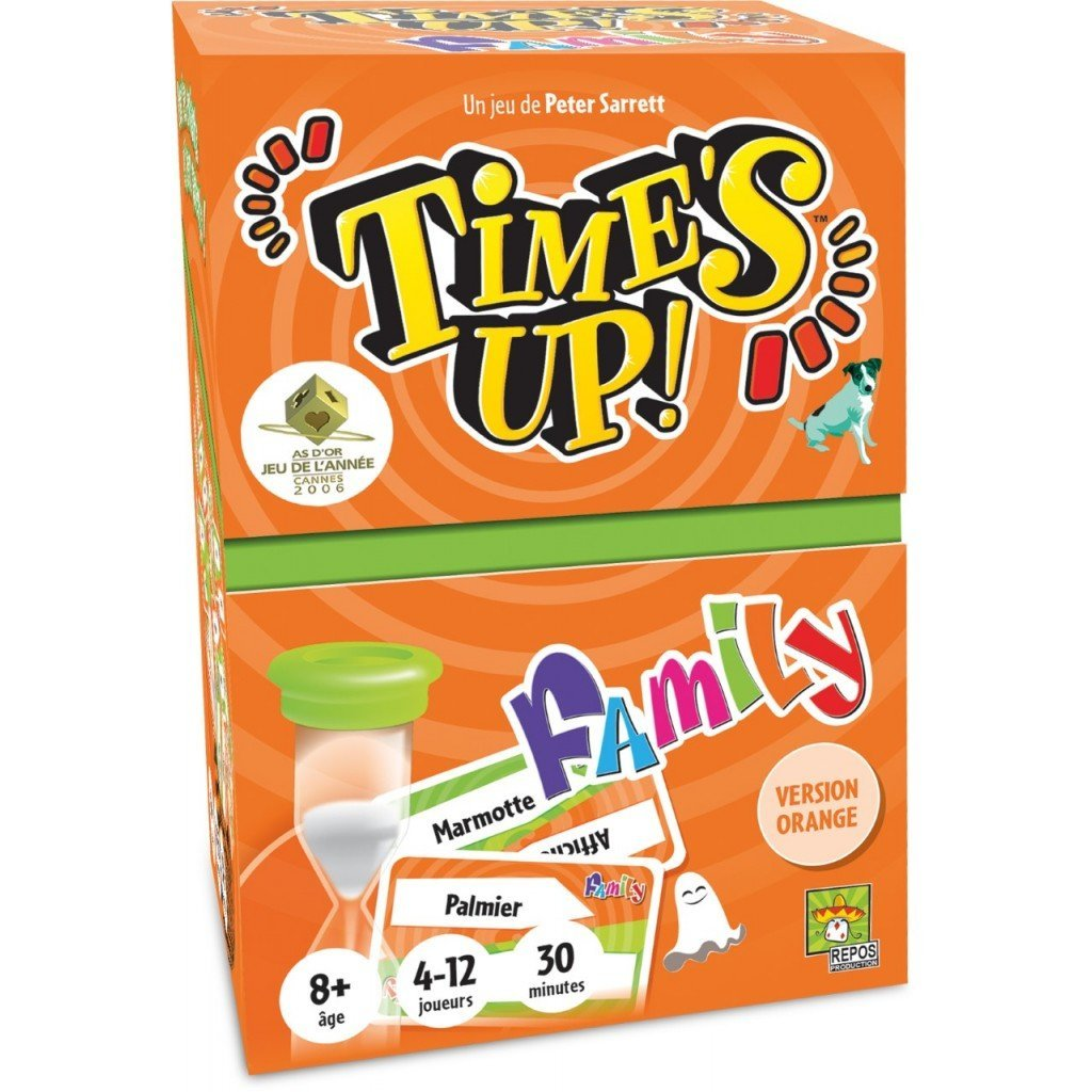 Time's up family - version orange-Repos Production