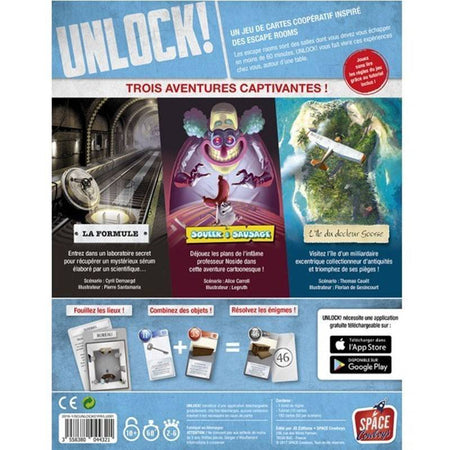 Unlock! Escape Adventures-Space Cowboys