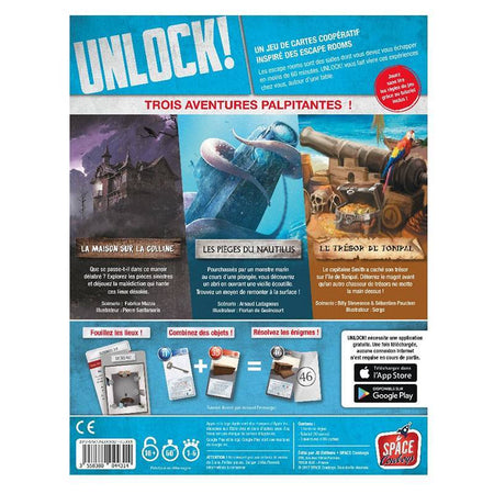 Unlock! Mystery Aventures-Space Cowboys