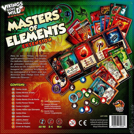 Vikings Gone Wild: Ext. Master of Elements-Lucky Duck Games