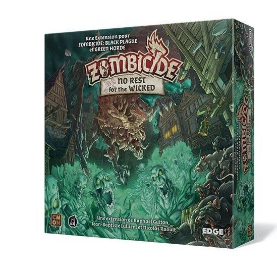 Zombicide Black Plague - No Rest for the Wicked-Edge-Jeu de stratégie