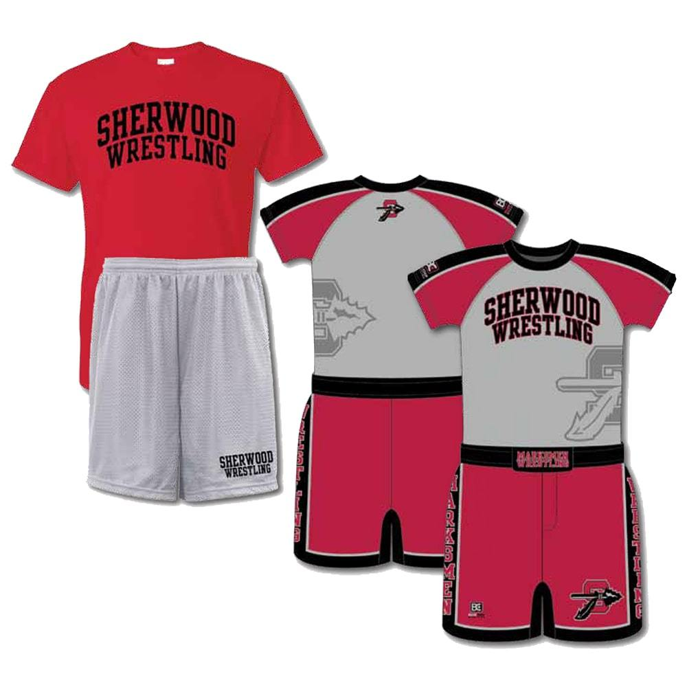 Competition Pack #2 (Sublimated Compression Shirt + Sublimated Short + Tee + Short)