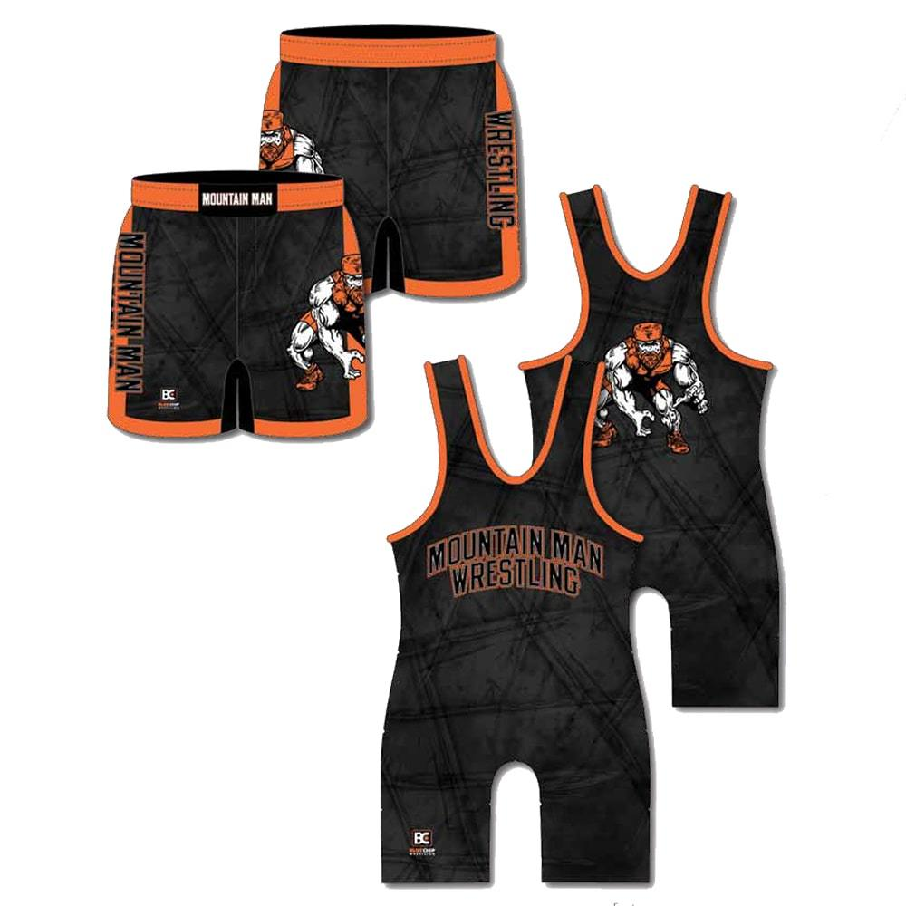 Competition Pack #3 (Singlet + Wrestling Short)