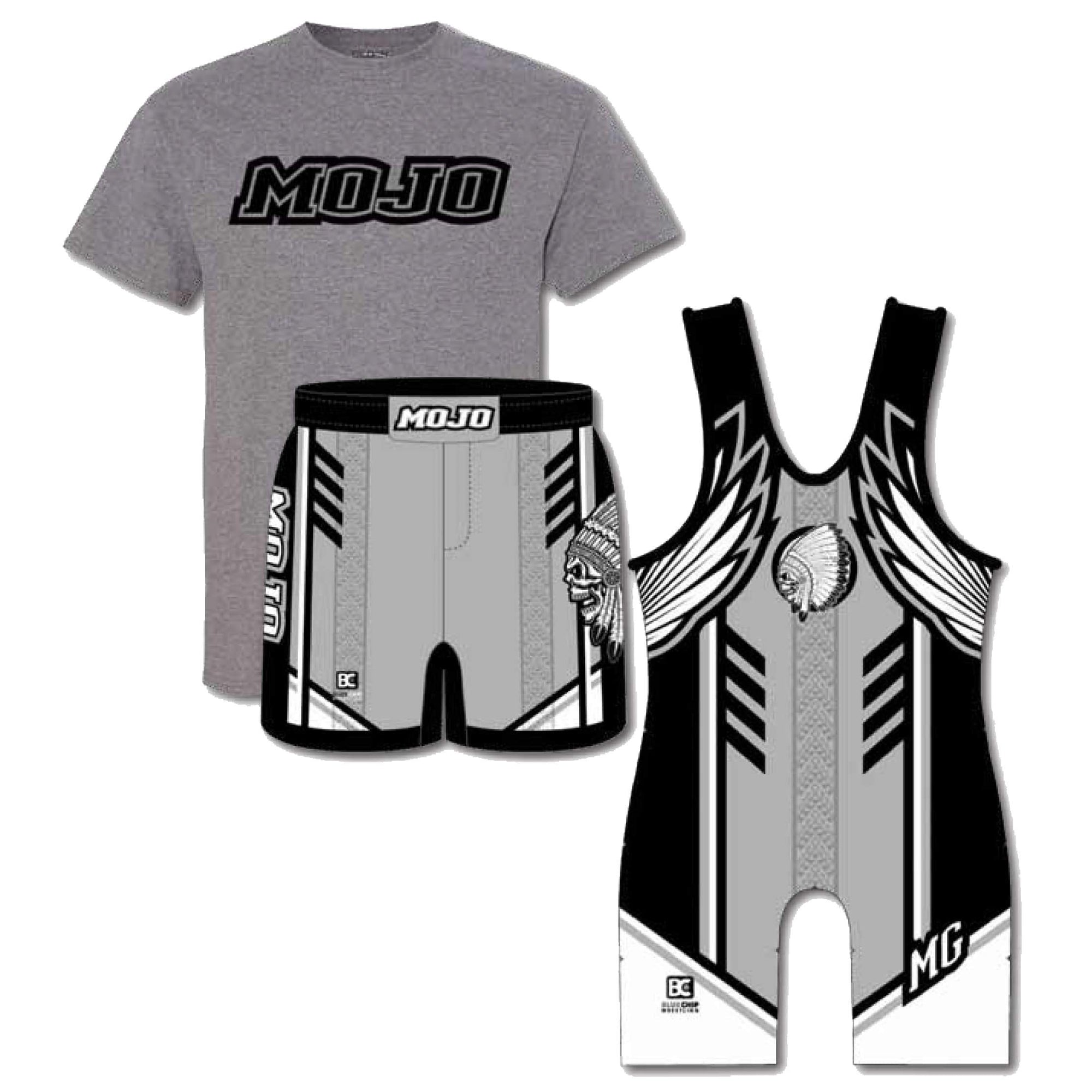 Competition Pack #4 (Tee + Singlet + Wrestling Short)