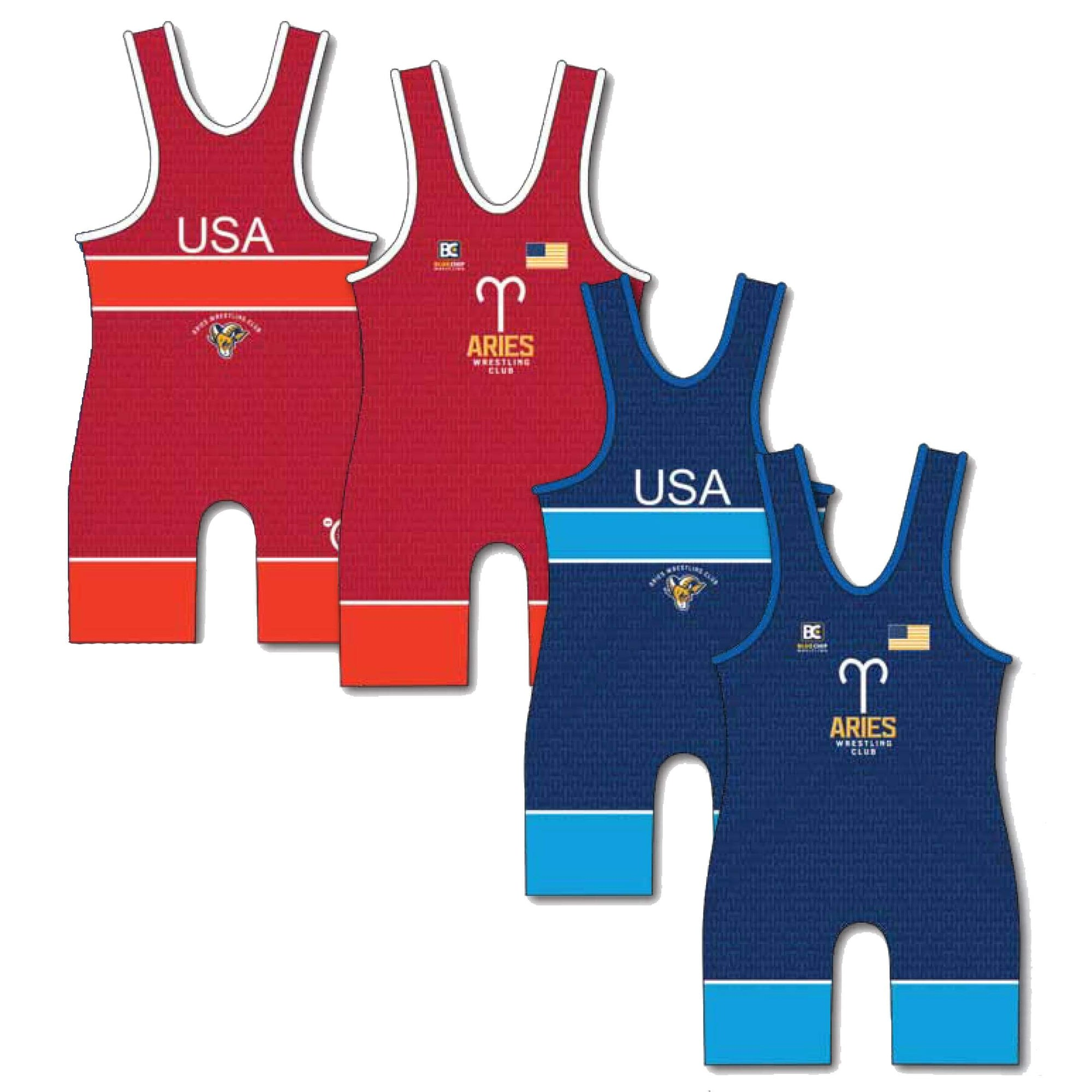 Competition Pack #5 (2 Singlets)