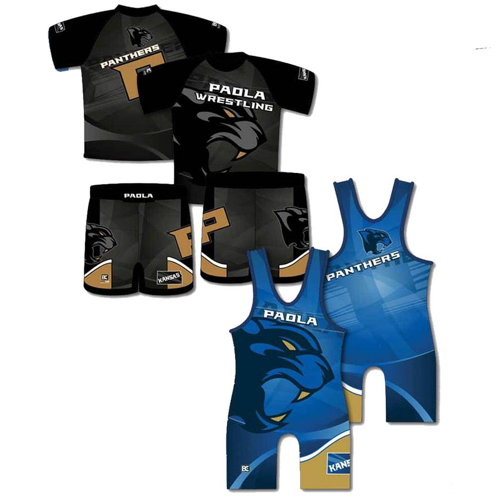 Competition Pack #7 (Sublimated Tee + Singlet + Wrestling Short)