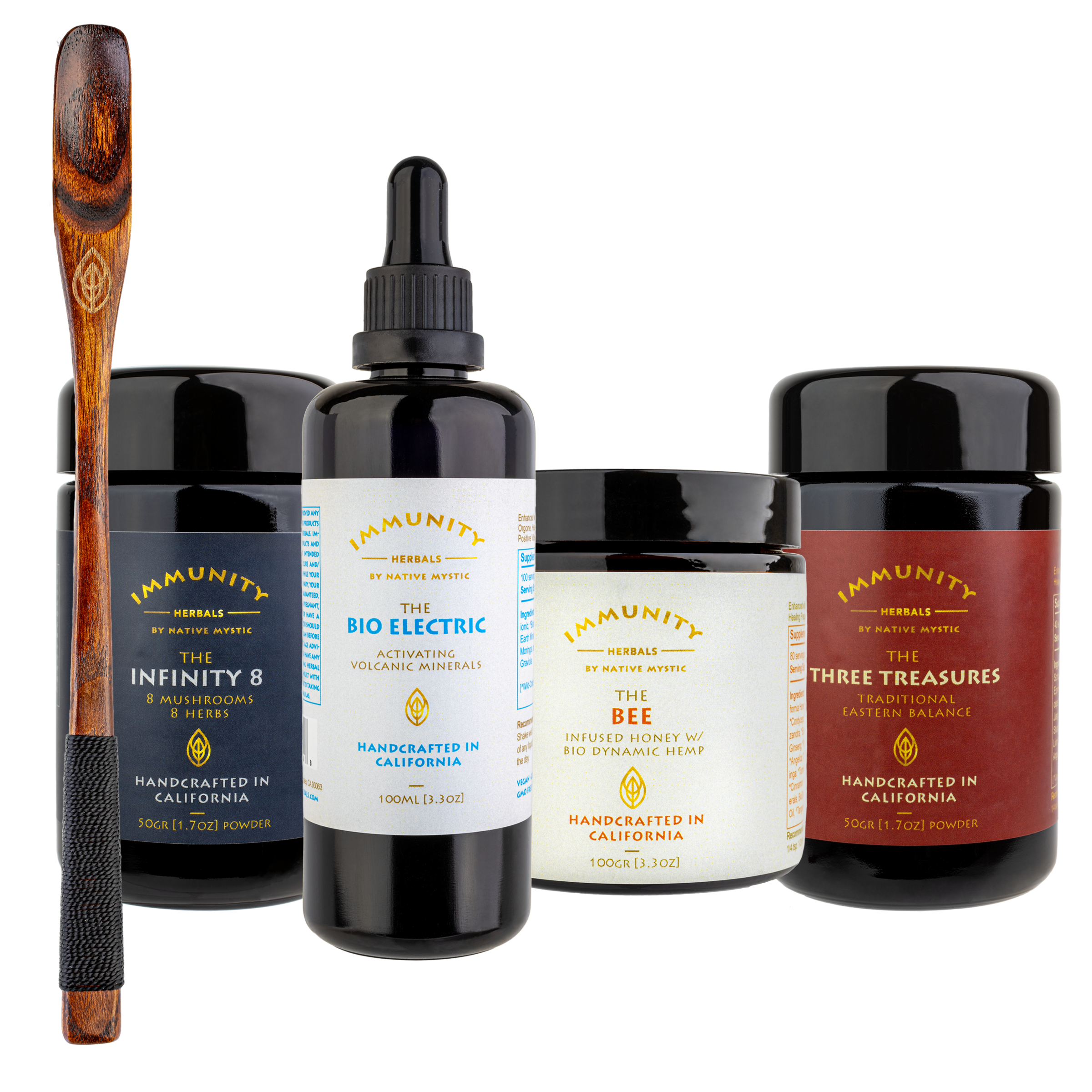 The ETERNAL BALANCE Package + Wooden Spoon