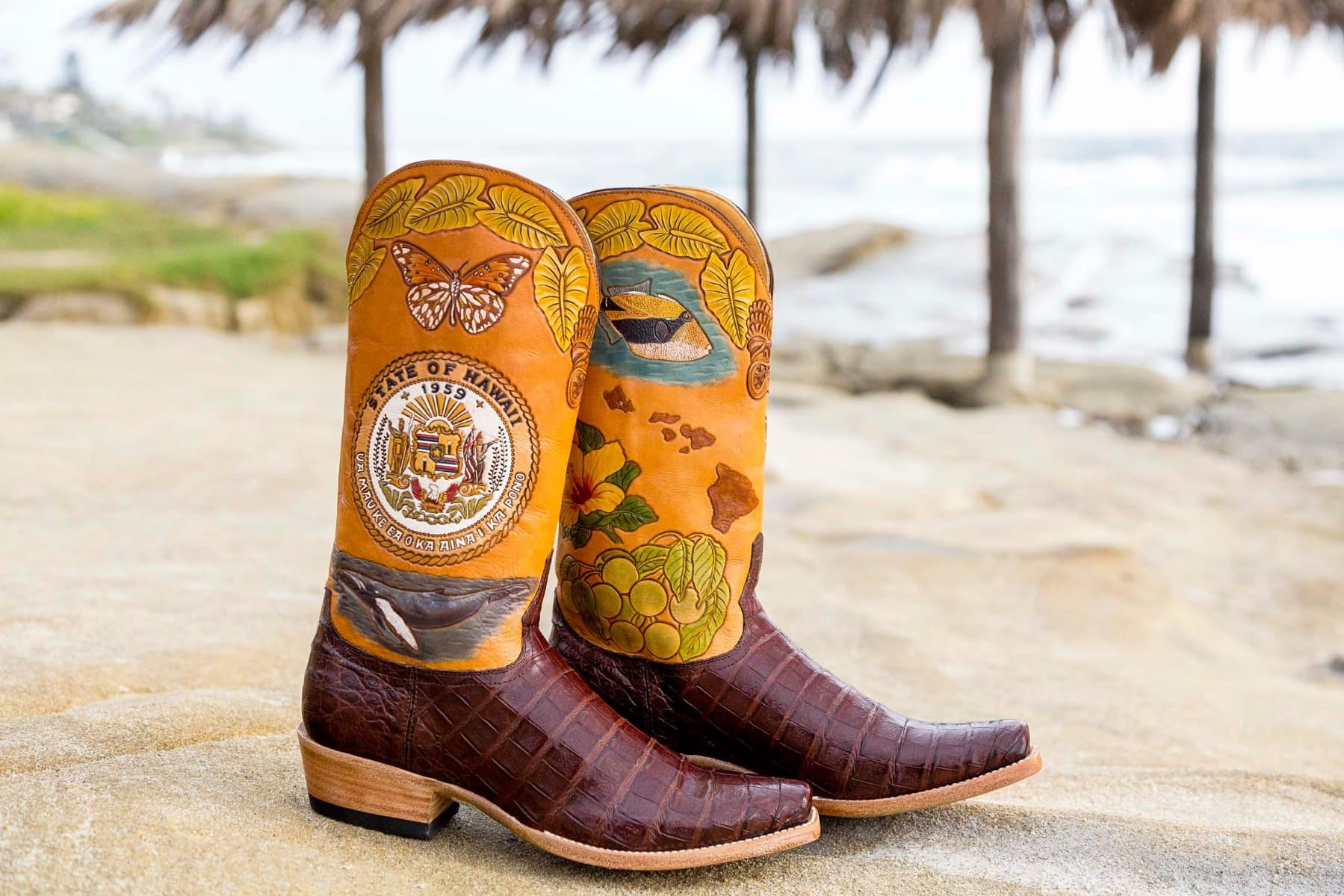 Hawaii State Boot